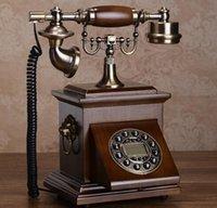 Wholesale Antique rotating telephone vintage telephone fashion home telephone