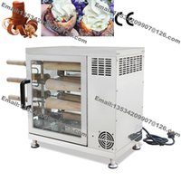 adjustable electric oven - Commercial Stainless Steel v v Electric Kurtos Kalacs Suto Chimney Cake Roll Grill Baking Oven Maker Machine
