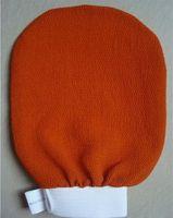 Wholesale morocco hammam scrub mitt magic peeling glove exfoliating tan removal mitt Package mail