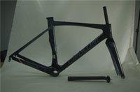 Wholesale Cipollini Bond Anthracite Road Bike Frame Black Carbon Road Bike Frames With BB386 Bottom Bracket K Black Color