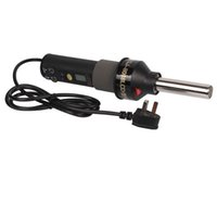 Wholesale AC V degree Celsius W portable LCD Soldering Station Hot Air Gun Three pin plug T03045