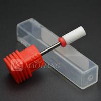 art devices - 1PCS Fine Super Pro Ceramic Nail Drill Bit Electric Drill File Manicure Machine Device Equipment Accessories Nail Art Tools