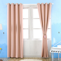 Wholesale New Arrival Sheer Curtains High Grade Solid Thick Modern Curtain Draperies for Living Dining Room Shade Insulation Fabric JI0143