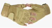 airsoft gloves - 2016 Outdoor Sports HOT NEW Camping Military Tactical Airsoft Hunting Motorcycle Cycling Racing Riding Gloves Armed Mittens
