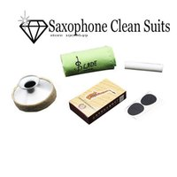 Wholesale LADE Alto Saxophone Sax bE Accessories Kit Mouthpiece Patch Bamboo Reed Cloth Cork Grease Mute in flute repair