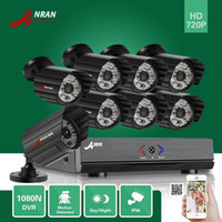 al por mayor sistema de videovigilancia hogar al aire libre-ANRAN AHD 1080N 8CH DVR HDMI Vídeo al aire libre IR Array Home Security Camera Sistema de Vigilancia