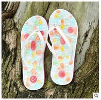 b clamp - DHL Summer sand beach slippers women female slippers Korean style fashion clamp feet flat sandals slippers jelly shoes women