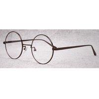Wholesale Circular Glasses Retro Frame Metal High Quality Both Men And Women Sven s Nerd Spectacles Myopia Optical Eyewear