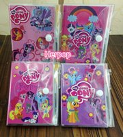 Wholesale DHL New Sale Fashion my little pony notebook best gift for children lovely book girl friend gift mix style