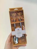 Wholesale Cute spoon Cute fork Coffee Spoon Teaspoon Condiment Sugar Measuring Fashion Cute Style Set for Wedding Childen Gift