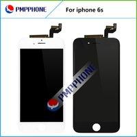Bon Marché Noir apple iphone-Meilleur AAA qualité Lcd remplacement d'écran pour iphone 6s 4.7