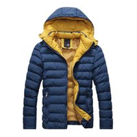 Cheap Mens Hooded Quilted Jacket | Free Shipping Mens Hooded