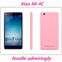 Bon choix Xiaomi Mi4c Prime 32GB Mi 4c 4G LTE Téléphone portable Snapdragon 808 Hexa Core 5.0 pouces 1920X1080 3GB RAM 13MP MIUI 7 Type-C