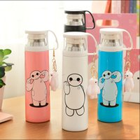 animation lens - 2015 cartoon white transparent cover insulation Cup stainless steel cup cup cup students animation lovers