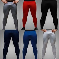 Wholesale drop shipping new winter sport tight tights wicking quick drying pants