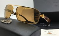 Wholesale Maybach G WA Z03 limited edition K gold professional design senior sunglasses men sunglasses classic fashion style exquisite luxury style