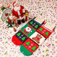 bear stuffing business - In business christmas Cotton socks Santa Claus Ms Bear cartoon Christmas stockings stuffed socks gift adult socks