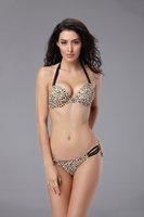 A la venta multicolor Rayas Floral Polka Dot Traje de baño Sexy Tempt Leopardo traje de baño acolchado Bañador de playa de verano baratos