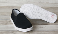 Kung Fu Chaussures Hommes Cheap Wholesale / Chaussons (Blanc Tissu Soled) Tai Chi Martial Arts Plimsolls