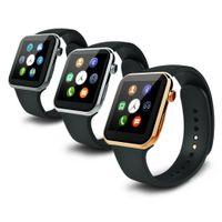 Intelligente montre Smartwatch A9 Bluetooth pour la mesure de la fréquence cardiaque de téléphone Apple iPhone Samsung Android étapes à distance prendre des photos DHL