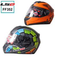 Wholesale 2016 New Genuine Original LS2 FF352 Motorcycle Helmet Safety Helmet High grade Helmet Knight