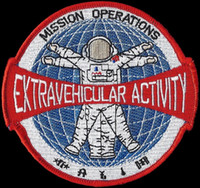activity patches - 4 quot NASA MISSION OPERATIONS PATCH EXTRAVEHICULAR ACTIVITY EVA SHUTTLE ISS SPACE IRON ON SEW ON APPLIQUE BADGE
