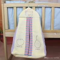 Wholesale baby cot crib bedding set baby bedside hanging bags diaper bag velvet storage bag bedside diaper cribs for babies toddler bed