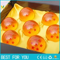 Wholesale Animation DragonBall cm Stars Crystal Ball New In Box Dragon Ball Complete Set Toys set Best Gift For Children DHL