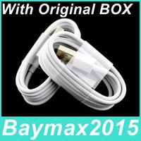 Wholesale 1M Ft Micro V Pin USB Cable Sync Data Cords Charger Line with Retail BOX for Samsung S6 S7 Edge s Plus All Phones