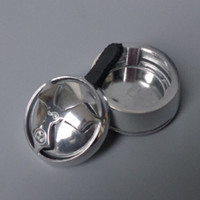 Wholesale New Arrival Hot Sale Aluminum Material Piece Shisha Hookah Bowl Charcoal Holder Kaloud Hookah Head Heat Keeper