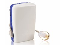 Wholesale S A Pocket Hearing Aid Deaf Aid Sound Audiphone Voice Amplifier digital sound amplifier ear amplifier hearing aids the elderly