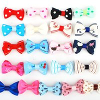 Wholesale 21Pcs NEW Fashion Boutique Ribbon Bows For Hair Bows Hairpin Hair accessories Child Hairbows Girl Flower Hair Bands Cheer Bows