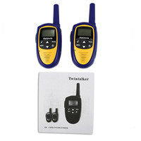 Wholesale New Mini Walkie Talkie A9112L CH W UHF FRS GMRS VOX LCD Display Two Way Radio