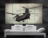 air force helicopters - U S air force boeing ch chinook Helicopter Poster PARTS print art huge giant photo No558