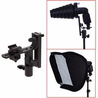 Wholesale L Bracket Flash Adapter Mount Holder for Pro Speedlite Bowens Hot Shoe Softbox
