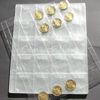Wholesale Classic Coin Album Pages Sizes Pockets Per Page mm mm mm Coin Album Book Binder