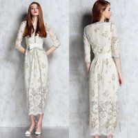 best power line - Cheap Lace Homecoming Dresses Jewel Neck Half Sleeve Graduation Dress Knee Lerngth In Stock Vintage Best Selling Party Prom Gowns