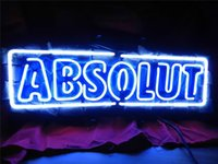 absolute energy - NEON SIGN For ABSOLUTE VODKA Signboard REAL GLASS BEER BAR PUB display Restaurant outdoor Light Signs quot