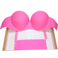 Wholesale New Fashion Women Seamless Bra Push Up Padded High Quality Soutien Gorge Underwire Cup Strapless Bra Underwear Sutian