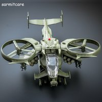 avatar helicopter model - 003 Avatar Scorpion Shape Fighting Airships Helicopter Dragunship Model with Sound Light for Kids Model Toys Military Aircraft Model