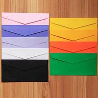 Wholesale 50pcs Envelopes Paper Envelopes mm Color Envelopes Colorful Baby Gift Craft Envelopes for Wedding Letter Invitations Papelaria
