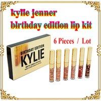 Wholesale Kylie mini Lip Kit by Kylie Jenner Lipkit In LEO Limited Birthday Edition CONFIRMED Liquid Matte Lipstick Lip Pencil Gloss Set
