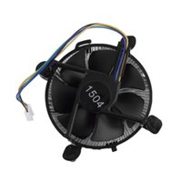 aluminium fan blades - pc CPU Heat Sink Aluminium for Intel Socket Base Fan Heatsink Cooler Cooling with fan blades For PC Computer V W
