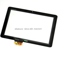 Wholesale quot Front Panel Touch Screen Digitizer Glass For Acer Iconia Tab A210 Black Color Without logo