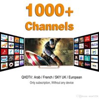 Wholesale 1300 Europe Arabic Iptv Channels Sky IT TR UK DE IPTV Account Apk Support Android Enigma2 Mag25x