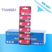 Wholesale card AG4 LR66 SR66 LR626 SR626 CX86W TIANQIU Cell Button Batteries Alkaline men ladies children watch battery