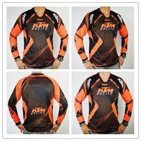 Wholesale Brand Men s KTM Motocross MTB DOWNHILL jerseys Racing Vented Pant off road Shirt Motorcycle jerseys one set jerseys pants