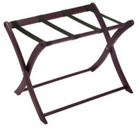 Wholesale Folding Wood Luggage Rack Classic Hotel Suitcase Stand