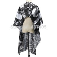 Wholesale Pro Adult Button Down Salon Hairdressing Cape Cutting Hairdresser Gown Clothes Protector Wrap Styling Tools clothes ladder