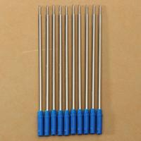 ballpoint pen refill medium - Price For Cross Type Ballpoint Pen Refills Ink Medium Blue Accessory Suitable For School Home Office